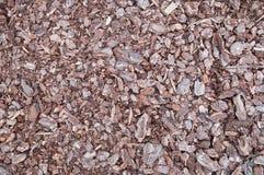 Background of Crushed Bark Stock Photos