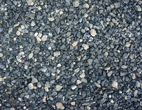 Background of crushed gravel Stock Images