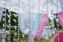 background crystal butterfly Stock Photos