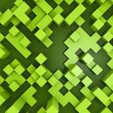 Background with cubes Stock Images