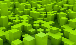 Background with cubes Stock Image