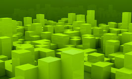 Background with cubes Royalty Free Stock Image