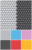 Background with cubes. Backgrounds with pseudo-3d cubes. Seamless vector pattern Stock Image