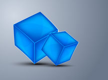 Background with cubes Royalty Free Stock Photo