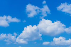Background Of Cumulus Clouds Stock Photo