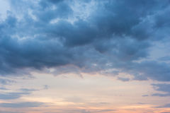 Background Of Cumulus Clouds Stock Image