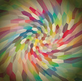 Background from curly cubes. Abstract background from curly cubes, illustration Royalty Free Stock Image