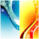 Background curves vector Stock Photos