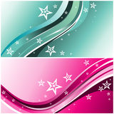 Background curves vector Stock Image