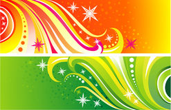 Background curves vector Stock Photo