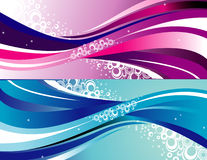 Background curves vector Royalty Free Stock Photography