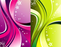 Background curves vector Royalty Free Stock Photo