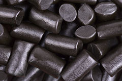 Liquorice background Stock Photography
