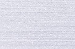 Background from cut of white foamed polystyrene stock photography