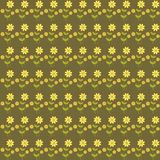 Background with cute flowers Stock Images
