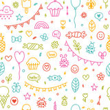 Background for cute little boys and girls.   Royalty Free Stock Photography