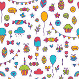 Background for cute little boys and girls.   Royalty Free Stock Photo