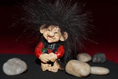 Cute troll Stock Photo