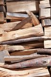 Background of cutted pine logs Royalty Free Stock Images