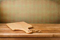 Background with cutting board Royalty Free Stock Images