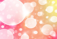 Background cycles abstract. Pink background cycles abstract with many lights Royalty Free Stock Image