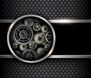 Background 3D gears Royalty Free Stock Photo