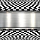 Background 3d metallic Stock Photo