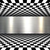Background 3d metallic Stock Image