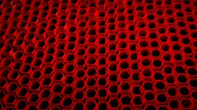 Background with 3d red Stock Photography