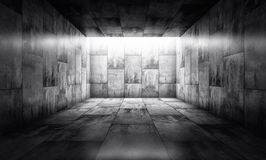 Background. 3D rendering of an concrete background Royalty Free Stock Images