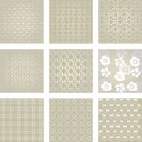 Background, damask wallpaper,  Stock Images