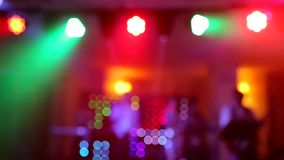 Background of the dance is blurred people dancing in a nightclub. Background of the dance is blurred people dancing in a nightclub stock video footage