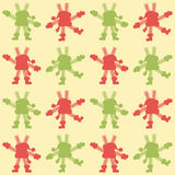 Background - dancing snowflakes. Vector background of dancing snowflakes Stock Image