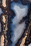 Background with dark agate structure Royalty Free Stock Photography