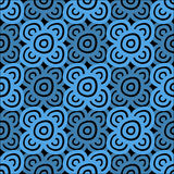 Background - dark blue and black Royalty Free Stock Image