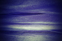 Background from dark blue delicate fabric Stock Image