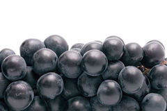 Background from dark blue grapes. Abstract background from dark blue grapes close up Stock Image