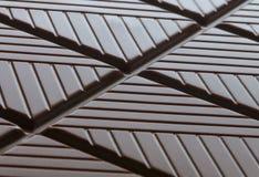 Background of Dark Chocolate Stock Image