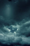 Background of dark clouds. Before a thunder-storm Royalty Free Stock Photos