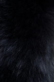 Background of dark fur Royalty Free Stock Photography