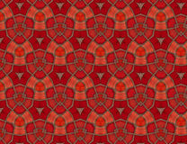 The background is dark red tones. Abstract mosaic background tile dark red tones vector illustration