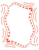 Background for Day of Valentine. Abstract vector background for Day of Valentine royalty free illustration
