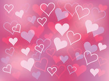 Background for Day of Valentine Royalty Free Stock Images