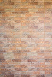 Background of decorate sand stone wall Royalty Free Stock Images
