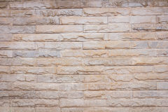 Background of decorate sand stone wall Royalty Free Stock Photos