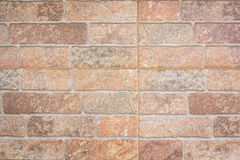 Background of decorate sand stone wall Royalty Free Stock Photo