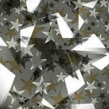 Background decorated stars Royalty Free Stock Image