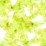 Background decorated stars Royalty Free Stock Photos