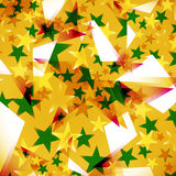 Background decorated stars Stock Image