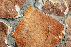 Background from a decorative brown stone Royalty Free Stock Photo